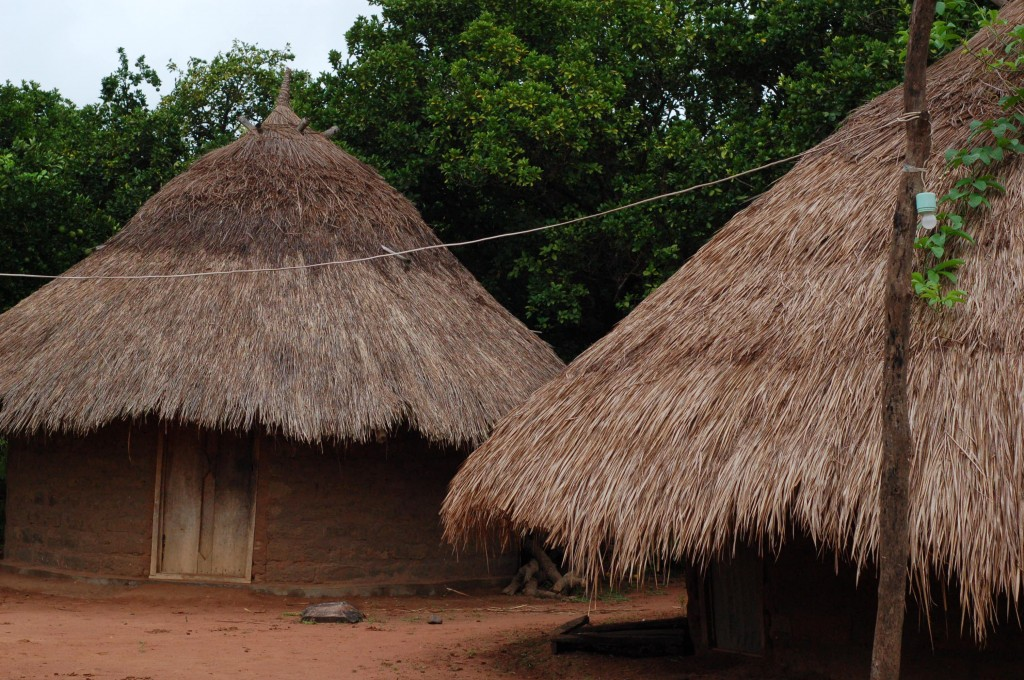 Image gallery nigerian huts for Types of houses in nigeria